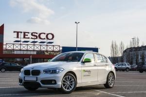 Trzy Pasaże Tesco udostępniły usługę wynajmu aut na minuty