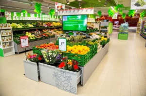 Sprzedaż w sklepach Stokrotka wzrosła w marcu o ok. 1,6 proc. rdr do 213 mln zł