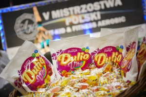 ZPC Bałtyk i cukierki Dulio Vita partnerem Mistrzostw Polski Fitness