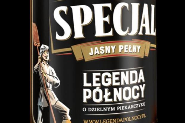 """Piwo Specjal zaczyna kampanię """"Legenda Północy"""" w formie komiksów"""