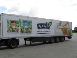 Zdjęcie numer 1 - galeria: Green Factory Logistics rozszerza działalność o nową usługę - mobilny billboard