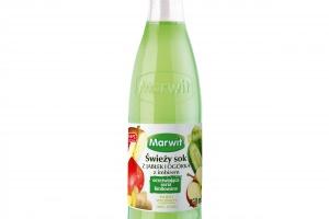 Marwit rozszerza ofertę soków i owoców i warzyw w formie convenience