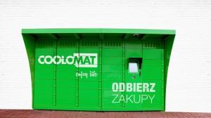 Coolomat postawi maszyny do odbioru zakupów spożywczych