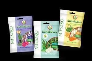Cukierki funkcjonalne od Mieszko – linia Eukaliptus ma dwa nowe smaki