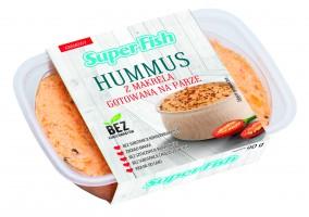 SuperFish wprowadza hummus z białej fasoli