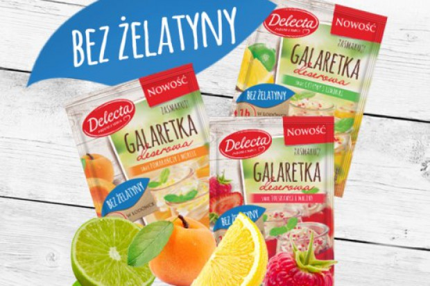 Nowość od marki Delecta - galaretki bez żelatyny