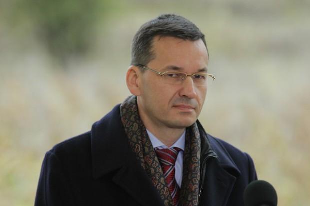 Morawiecki: spodziewałem się utrzymania przez Agencję S&P naszej bardzo dobrej perspektywy
