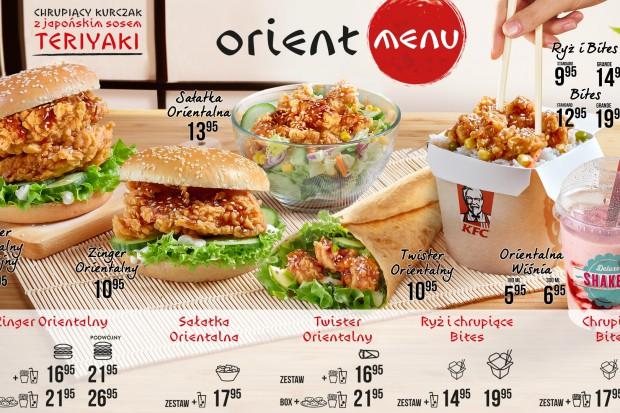 KFC wraca z ofertą orientalnych smaków