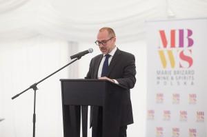 Jean-Noël Reynaud, prezes Marie Brizard Wine and Spirits - wywiad o inwestycji w Łańcucie i polskim rynku alkoholi