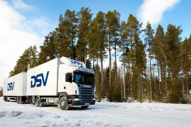 DSV kontynuuje testy ekologicznych ciężarówek