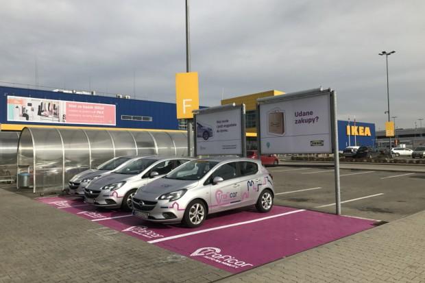 Ikea w Krakowie przygotowała wypożyczalnię samochodów dla swoich klientów