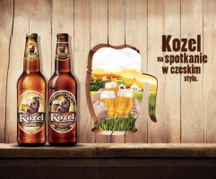 Piwo Kozel z nową kampanią