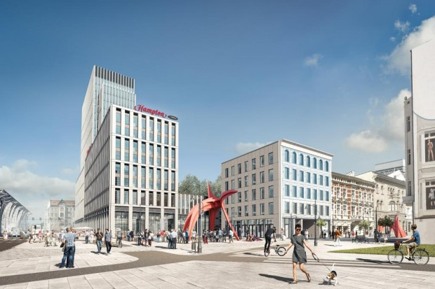 Inwestycja o wielkości 25 tys. m kw. powierzchni powstaje w centrum Łodzi