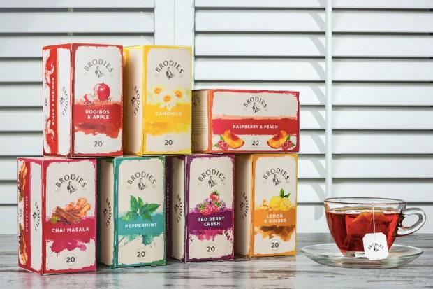 Segafredo, dystrybutor herbat Brodies: wzrasta zainteresowanie herbatami liściastymi