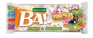 Nowość od Bakalland – batony BA! Kids