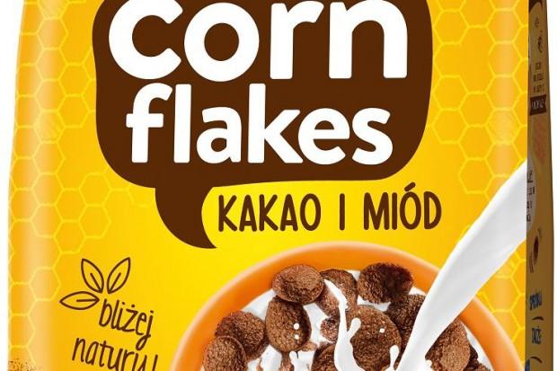 Płatki Corn Flakes Kakao i Miód – nowość od Lubelli