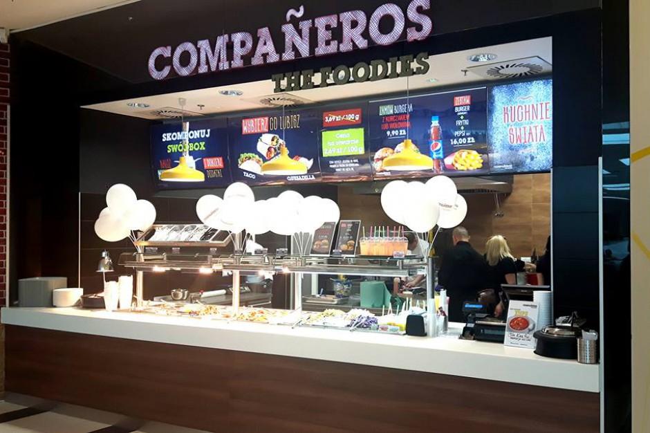 Gastromall z konceptem Companeros The Foodies w CH Tarasy Zamkowe w Lublinie