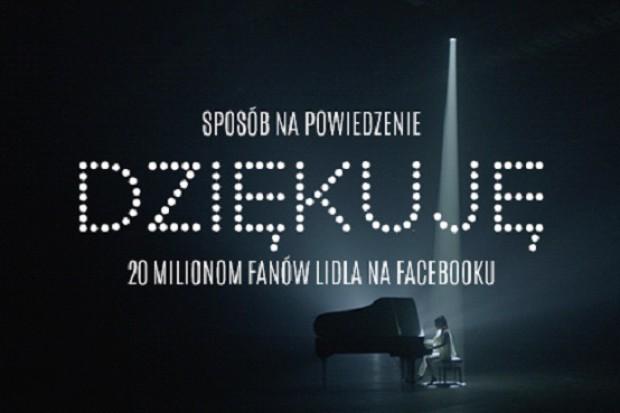 Piosenka w 20 językach dla 20 mln fanów Lidla na Facebooku