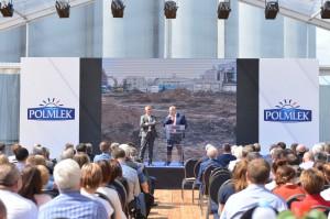 Uroczyste otwarcie nowego zakładu Polmleku (zdjęcia)