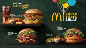 McDonald's wprowadza nowości na 25. urodziny