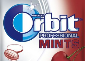 Nowy odsłona Orbit Professional Mints XXL Cherry