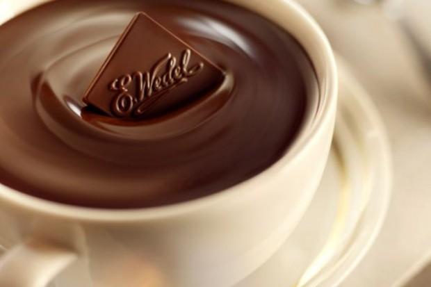 E.Wedel z kolejną pijalnią czekolady