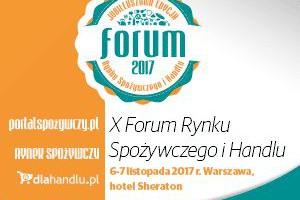 Zapraszamy na jubileuszowe X Forum Rynku Spożywczego i Handlu!