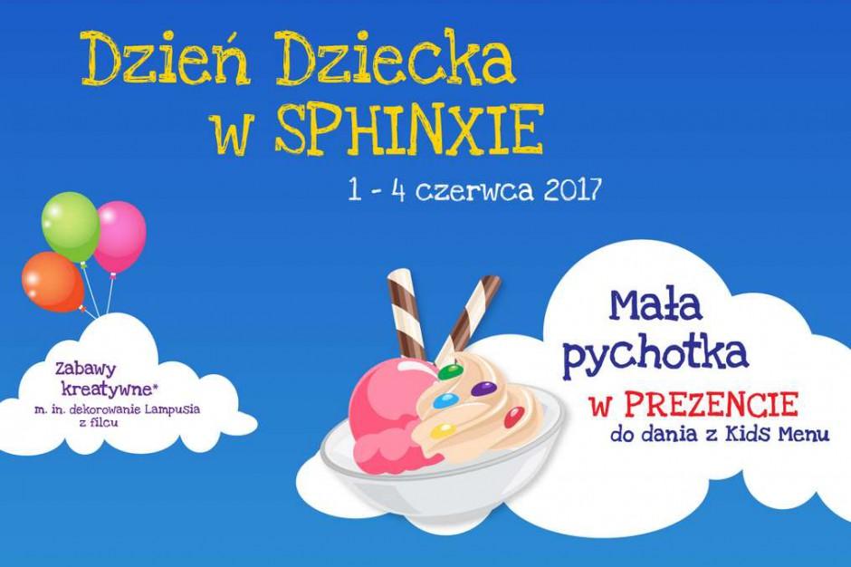 Sphinx na Dzień Dziecka rozda lodowy deser