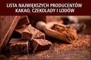 Lista największych producentów kakao, czekolady i lodów - edycja 2017