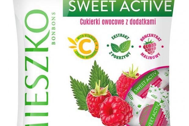Mieszko z nowymi cukierkami funkcjonalnymi Sweet Active