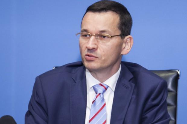 Morawiecki: Rośnie rola Polski na logistycznej mapie Europy