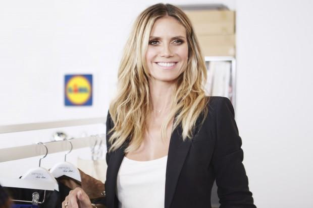 Lidl rozpoczyna współpracę z modelką Heidi Klum