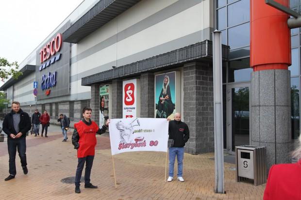 Kolejne protesty przed marketami Tesco odbędą się w Gdyni i Bydgoszczy