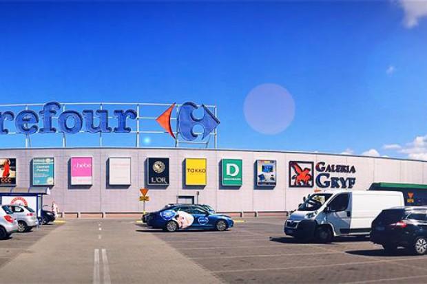 Należąca do Carrefoura Galeria Gryf zyska strefę restauracyjną
