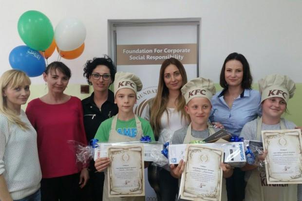 Fundacja FCSR wraz z KFC zrealizowała program Mały Kucharz