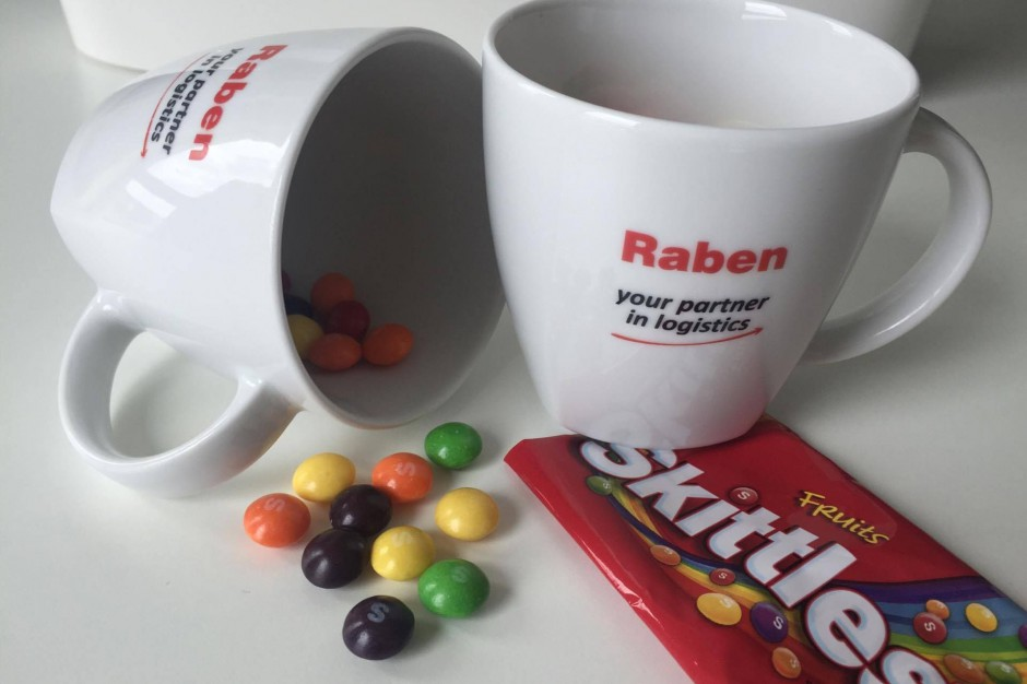 Producent cukierków Skittles współpracuje z Grupą Raben
