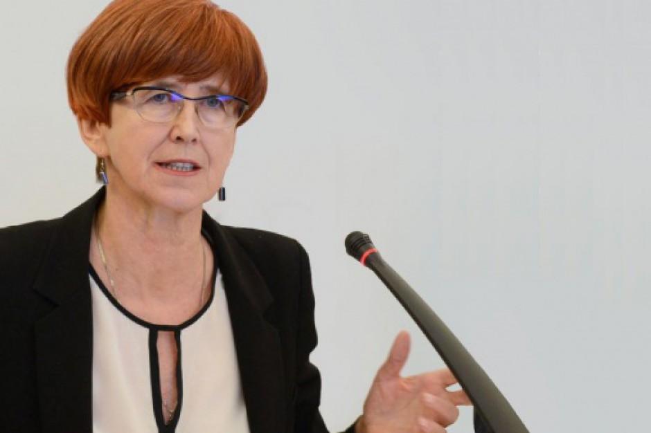 Rafalska: Zaproponujemy zmiany w projekcie
