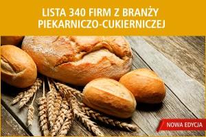 Lista 340 firm z branży piekarniczo-cukierniczej - nowa edycja