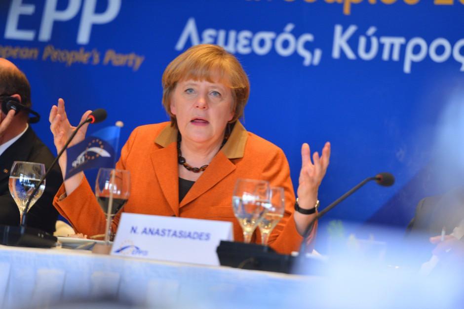 Angela Merkel: Na wolnej wymianie handlowej wygrywają wszyscy