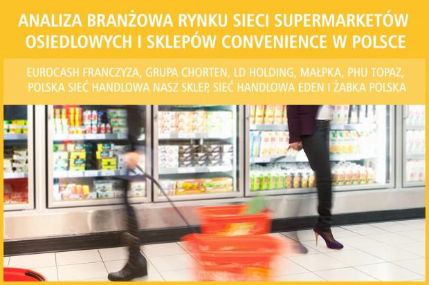 Analiza branżowa rynku sieci supermarketów osiedlowych i sklepów convenience w Polsce - edycja 2017
