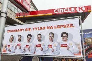 Stacje Statoil w Warszawie zmieniły szyld na Circle K