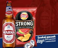 Loteria piwa Warka: Do rozdania 4 mln paczek chipsów Lay's