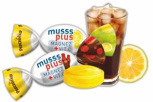 FC Pszczółka wprowadza musujące karmelki Musss Plus z witaminą C i magnezem