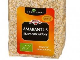 Zdjęcie numer 1 - galeria: Mintel: Amarantus składnikiem coraz większej liczby nowych produktów żywnościowych