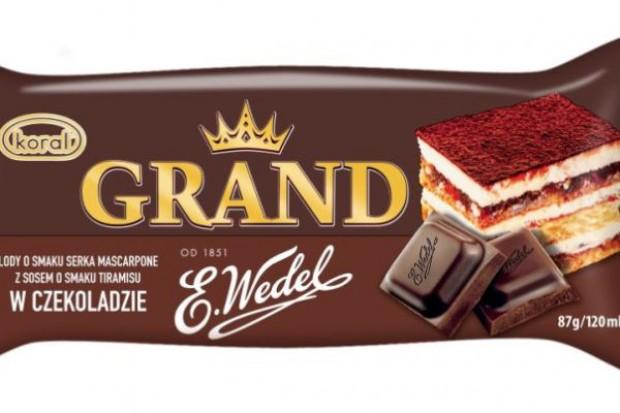 Lody i czekolada – efekt współpracy marek E.Wedel i Koral