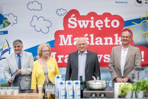Mlekpol świętuje 20 lecie Maślanki Mrągowskiej