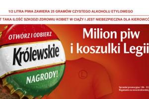 Nowe koszulki Legii Warszawa do wygrania w loterii Królewskiego
