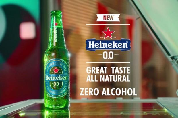 """Heineken wprowadził markę piwa bezalkoholowego """"0.0"""""""