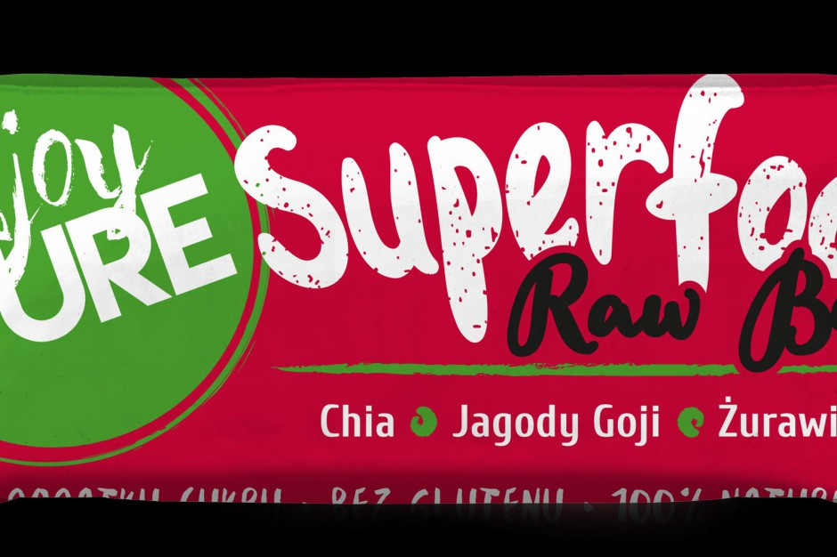 Nowość od Purella Food - batony Superfood Raw Bar z linii Enjoy Pure Life
