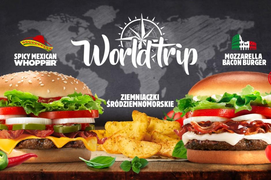 World Trip - oferta podróże ze smakiem w Burger King